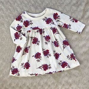 Old Navy Dress Size 3-6 Months Long Sleeve Floral